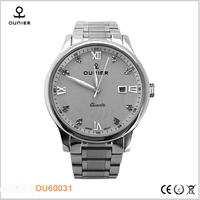 Alibaba express build your own brand Business quartz watch custom-made logo watches men
