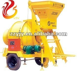 Concrete Mixer For Mixing Plant