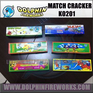 60pcs in one middle box match cracker fireworks