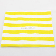 Disposable Stripe Chevron Polka Dot Paper Napkins for Wedding Decor