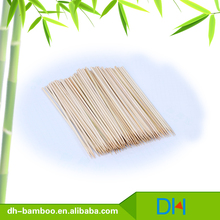 High Quality Round Sticks BBQ Bamboo Skewer Thin Bamboo Stick
