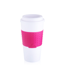 Hot Selling Cheap Price Plastic Coffee Mug With Lid