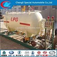 10000liter Gas Stations Tank Portable Gas Station
