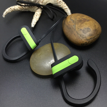 2017 Fashion in-ear stereo bluetooth headset Best selling custom logo wired stereo earbuds earphone