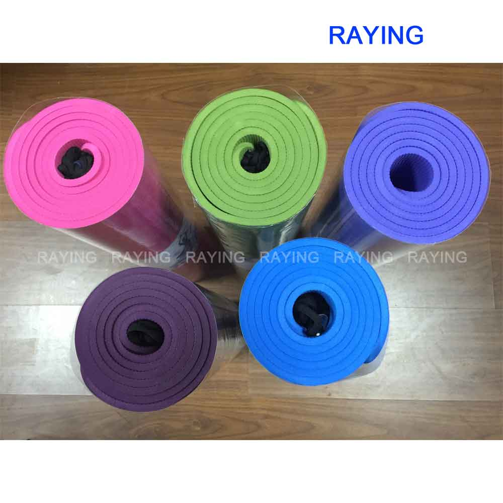 free shipping <strong>Eco</strong> - friendly Manufacturer 1830*610*6MM TPE Yoga Mat Yoga Towel Yoga Accessory 5 colors