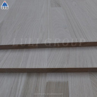 hot sale red oak finger joint board for furniture from manufacturer LuLi group