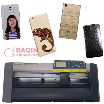 Daqin Custom mobile skin cutting machine for any mobile and PS4 controller skin