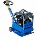 GCH4020 hydraulic vibrating plate compactor with lifting hook for sale