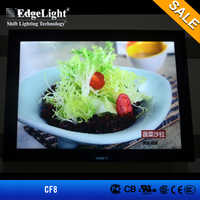 Edgelight High Quality Reasonable Price crystal led acrylic photo frame for interior decoration