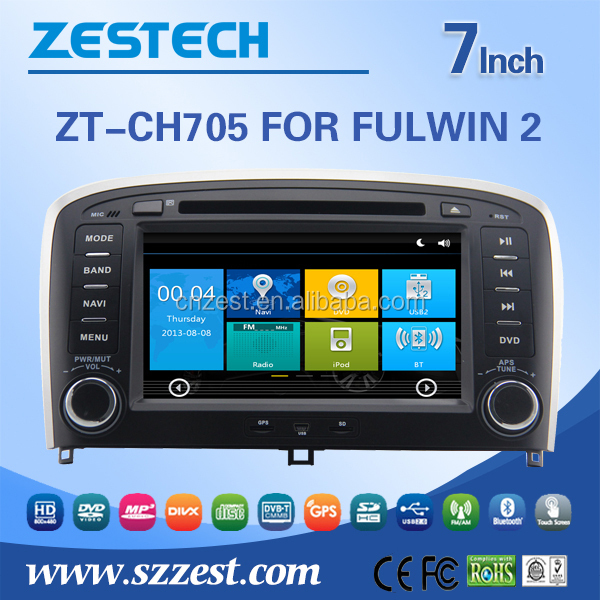 For Chery FULWIN 2 Fm radios audio rmvb mkv car dvd player support BT Phone DTV DVR SWC