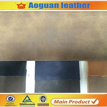 Hot sell item factory directly price pu coat fabric for winter boots leather T5813