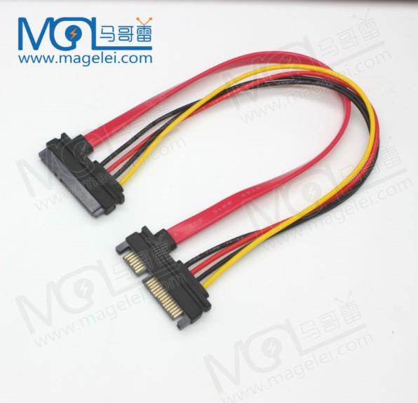 Angle To Straight 7pin Sata3 0 Cable Sata3 0 Transparent