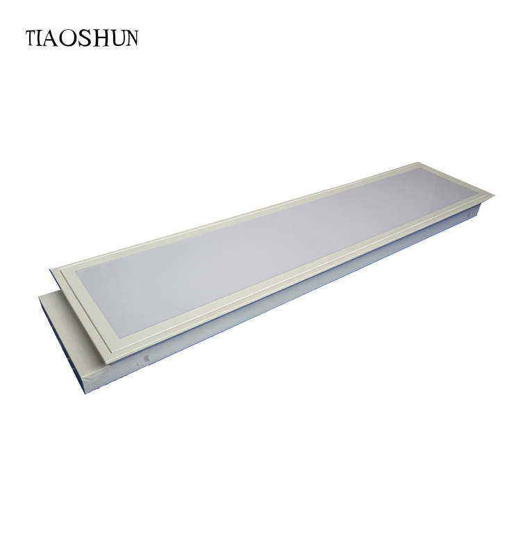 Factory direct sell t8 ceiling recessed led panel light with high transmittance diffuser