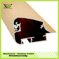 Anodized extruded aluminum profile for light box/signs/signage
