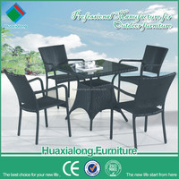 Cane furniture patio dining set fancy living room furniture FWA-220
