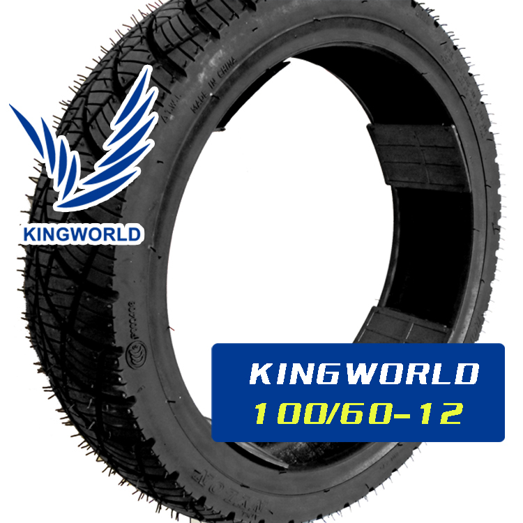 China high quality 100/60-12 motorcycle tire