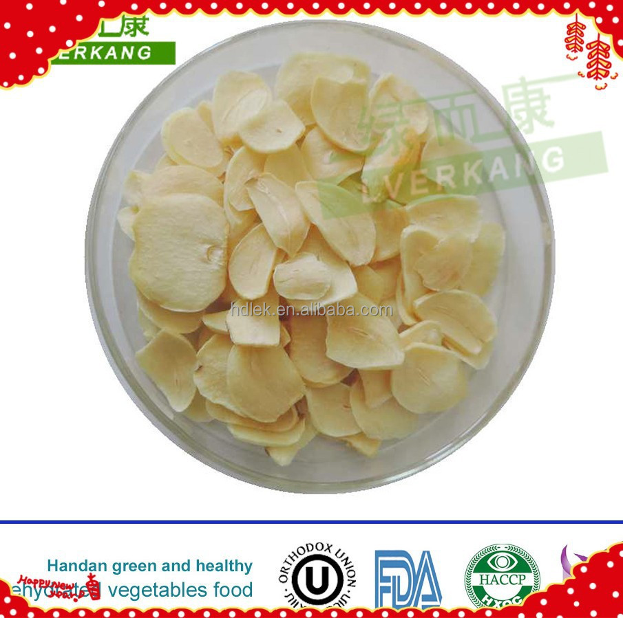 white chinese dried minced garlic flake granules powders, can be used for Instant noodles seasoning and hotpot soup base