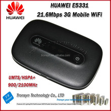 Original Unlock HSPA+ 21.6Mbps E5331 Low Price Pocket WiFi 3G Wireless Router With Sim Card Slot