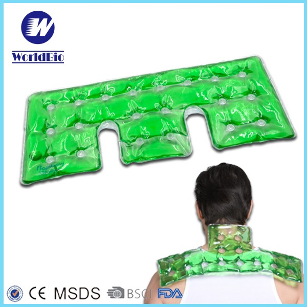 PVC heat pack for shoulder and knee with iron hot pack