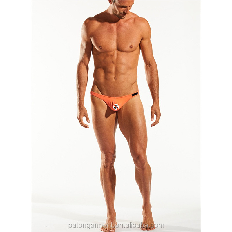 Custom Flattering, unlined cut enhancing pouch briefs mens breathable underwear
