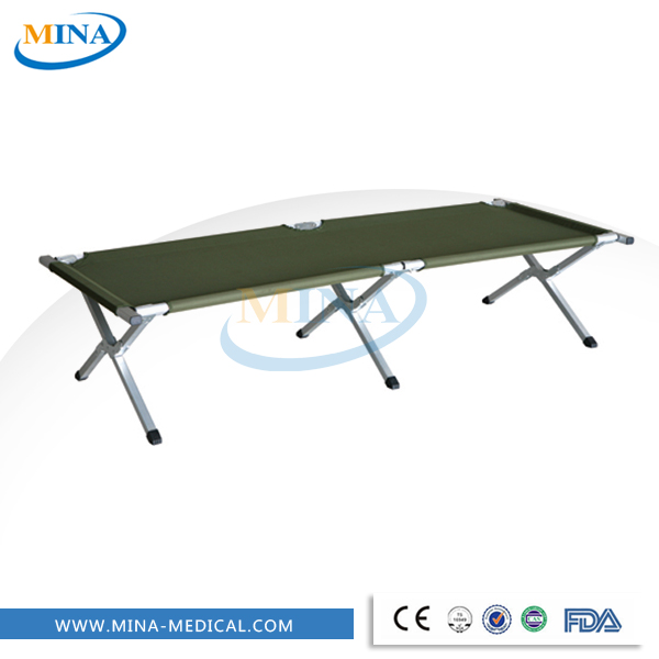 high quality medical military folding bed, folding cot bed