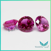 Free Sample Round Color #60 Star Cut Synthetic Corundum Rough