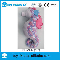 custom made plush Hippocampus toy/ stuff seaworld toy promotion