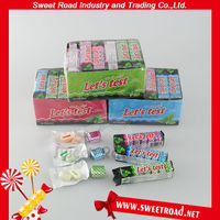 7pcs Center Filled Bubble Gum,Center Filled Chewing Gum