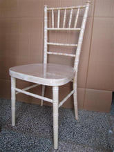 high quality wood and Lime wash chiavari / tiffany chair for sale
