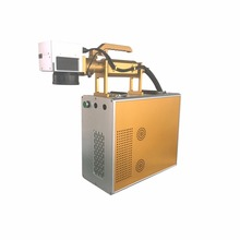 Hot sell 10W 20W portable fiber laser marking machine durable laser engraver for metal and nonmetal engraving
