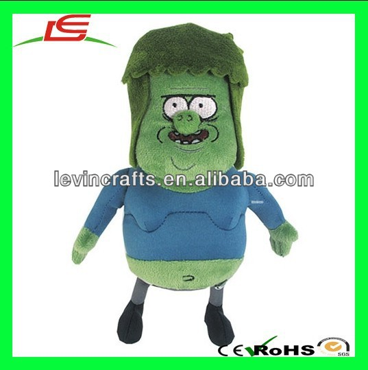 "LE h1730 Cartoon Network Regular Show Muscle Man 7"" Plush Toy"