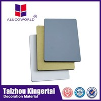 Alucoworld 3mm heat resistant board interior&exterior wall decoration ACP composite panel definition