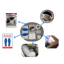 disposable car clean set 5 in 1 kit for auto service kit used in auto body shop made in China