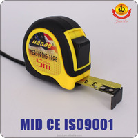3m/5m/7.5m/10m digital steel metal tape measure for measuring