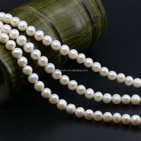 Factory Price Wholesale A Grade 7-8mm Natural Pearl, Freshwater Pearl Strand