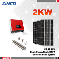 Green energy 2000w,3kw,5kw,10kw solar photovoltaic power system.solar energy system