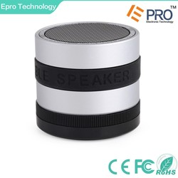 Bluetooth Wireless Super Bass Speaker Mini Portable Built-in FM Rechargeable Battery Working for MP3 / iPhone / iPad / Samsung /