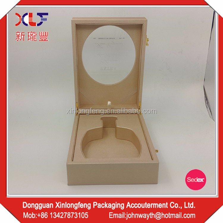Wholesale High Quality luxury leather wine gift boxes