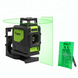 Green Beam Cross Laser Self-Leveling 360-Degree Horizontal Line Laser Level