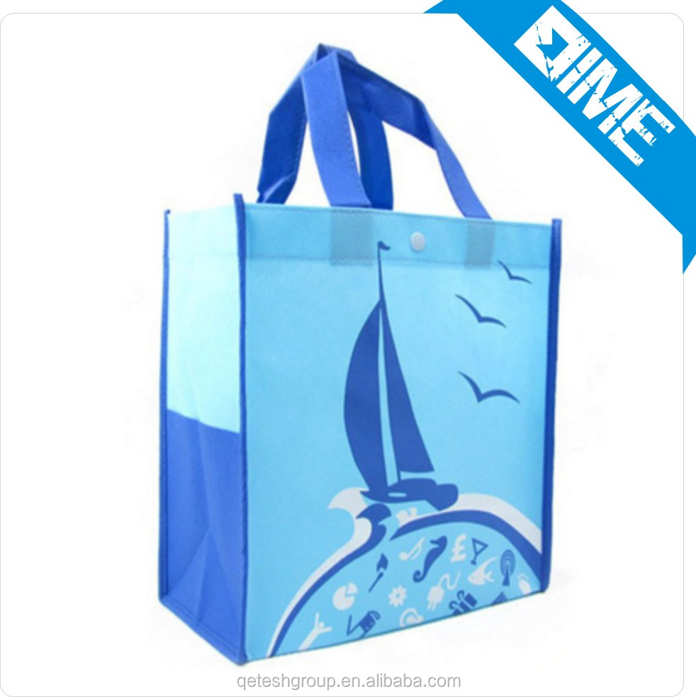 Glossy/Matt Lamination Non PP Woven Shopping Bag
