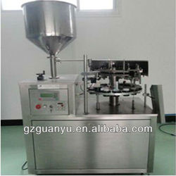 Aluminum Tubes 502 glue filling and sealing machine