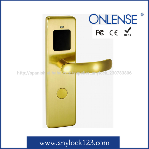 Hotel intelligent electronic key lock key steel sizes