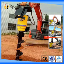 professional earth auger drills machine for excavator