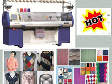 Similar Stoll Fully Fashion Computerized Flat Knitting Machine