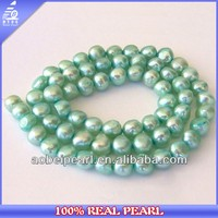 Pretty Pale Aqua Cultured Freshwater Pearls La Perla