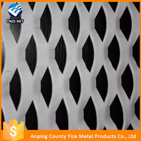 China manufacture building materials Heavy Duty Steel Diamond Flat Plate Expanded Metal Mesh decorative panels