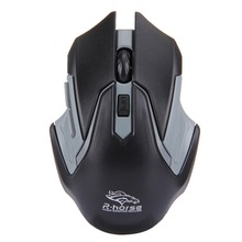 in stock 2.4G USB Receiver 6 Buttons 3200DPI Wireless Optical Computer Gaming Mouse