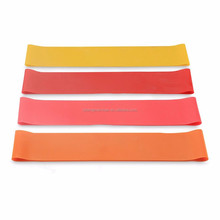 Resistance Bands Set of 4 Heavy Duty Fitness and Exercise Loop Bands for Strength Training Yoga Pilates Rehabilitation