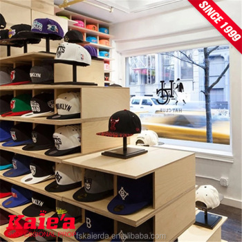 20 years factory experience hat display rack for retail store