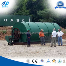 Ful oil Extraction!!! used tire pyrolysis plant, waste tire recycling machine prices